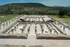 сгорели дворец tula Мексики Стоковое фото RF