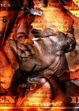 сгорели доллар Стоковая Фотография RF