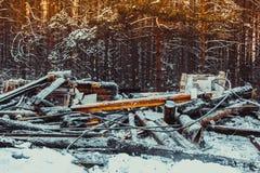 сгорели дом деревянная стоковая фотография