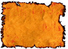 сгорели края Стоковое фото RF