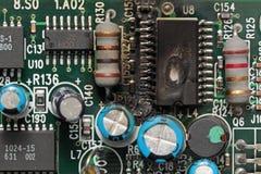 сгорели обломок вниз Стоковое фото RF