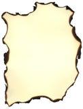 сгорели пергамент Стоковое Фото