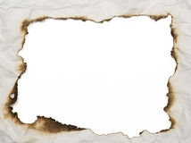 сгорели рамка Стоковое фото RF