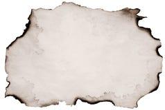 сгорели старая бумага Стоковая Фотография RF