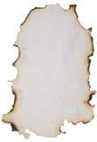 сгорели старая бумага Стоковая Фотография