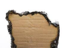 Сгоренная бумага Стоковое Изображение