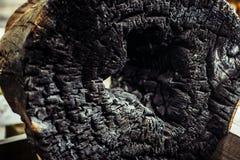 Сгоренный logon внутренность сгорела стоковое изображение rf