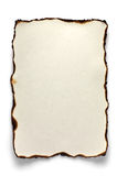 Сгорели лист A4 Стоковые Фото