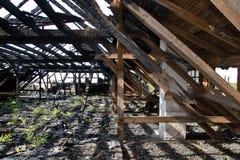 Сгорели крыша Стоковые Фотографии RF
