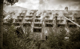 Сгорели младший гостиницы, Словакия Стоковое фото RF