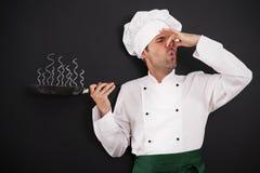 Сгорели основное блюдо Стоковые Изображения