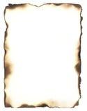 Сгорели рамка краев стоковые фотографии rf
