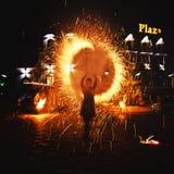 Сгорите выставку Стоковая Фотография RF