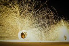 Сгорите выставку Стоковое фото RF