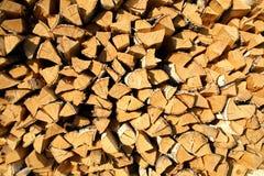 сгорите древесину Стоковая Фотография