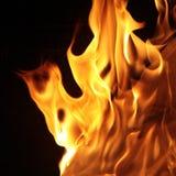 сгорите пламена стоковые фото