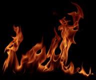 сгорите пламя Стоковое фото RF