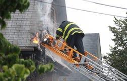 сгорите glenwood rd somerville Стоковые Фотографии RF