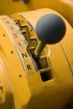 сдвигатель шестерни оборудования тяжелый Стоковая Фотография RF