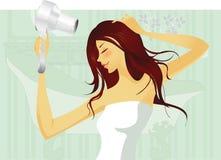 сделайте волос Стоковые Изображения