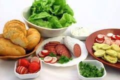 сделайте готовые сандвичи к Стоковые Фото