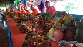 Сделайте заслугу с фестивалем lak Sa phat стоковые изображения rf