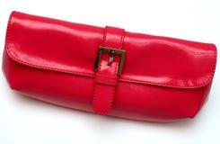 сделайте красный цвет портмона вверх Стоковые Фото