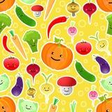 сделайте по образцу безшовные овощи Стоковое фото RF