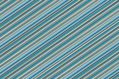 Сделайте по образцу раскосные голубые бежевые пастельные линии бесконечную параллель s тона стоковые изображения