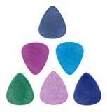 сделанная гитара выбирает треугольник Стоковое фото RF