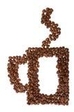 сделанная кофейная чашка фасолей Стоковая Фотография RF