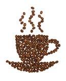 сделанная кофейная чашка фасолей Стоковая Фотография