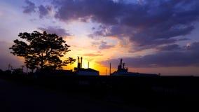 Сделанная фабрика стоковая фотография rf