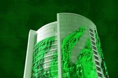 сделанная электроника здания Стоковое Изображение