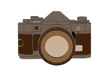 сделанная эскиз к камера Стоковые Изображения RF