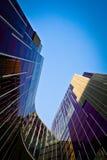 сделанное стекло здания Стоковые Изображения