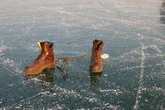 сделанные ботинки Стоковые Фотографии RF