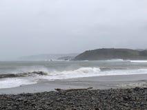 Сделанные встречи утра Lindamar Pacifica занимаясь серфингом стоковые фото