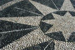 сделанные камни звезды Стоковые Изображения