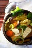сделанные овощи супа Стоковые Изображения