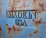 сделанные США Стоковые Фотографии RF