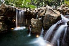 сделанный водопад человека Стоковые Изображения RF
