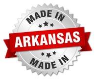 сделанный в значке Арканзаса Стоковое Изображение RF