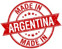 Сделанный в штемпеле Аргентины бесплатная иллюстрация