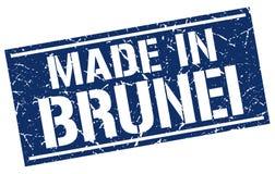 сделанный в штемпеле Брунея бесплатная иллюстрация