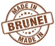 сделанный в штемпеле Брунея иллюстрация вектора