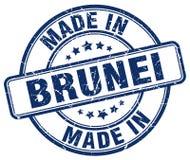 сделанный в штемпеле Брунея иллюстрация штока