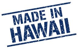 Сделанный в штемпеле Гаваи иллюстрация вектора