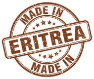 сделанный в штемпеле Эритреи иллюстрация вектора