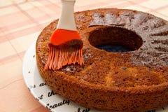 сделанный дом торта Стоковые Фото